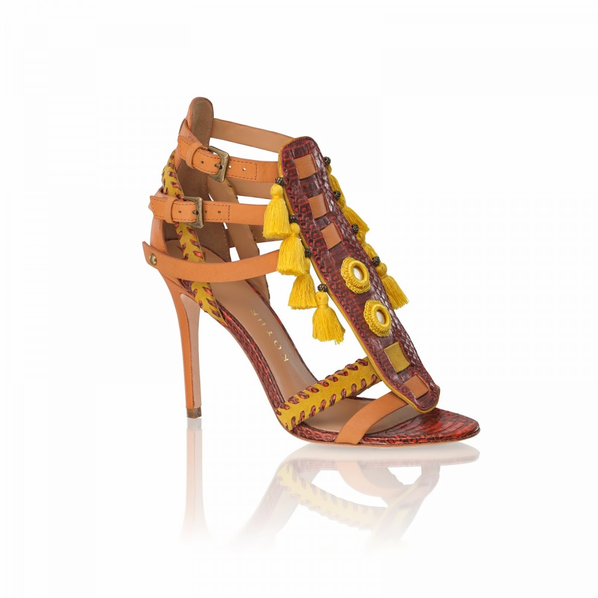 guzel-kotur-shoes-yellow-snakeskin-suede-ss14-3quarters