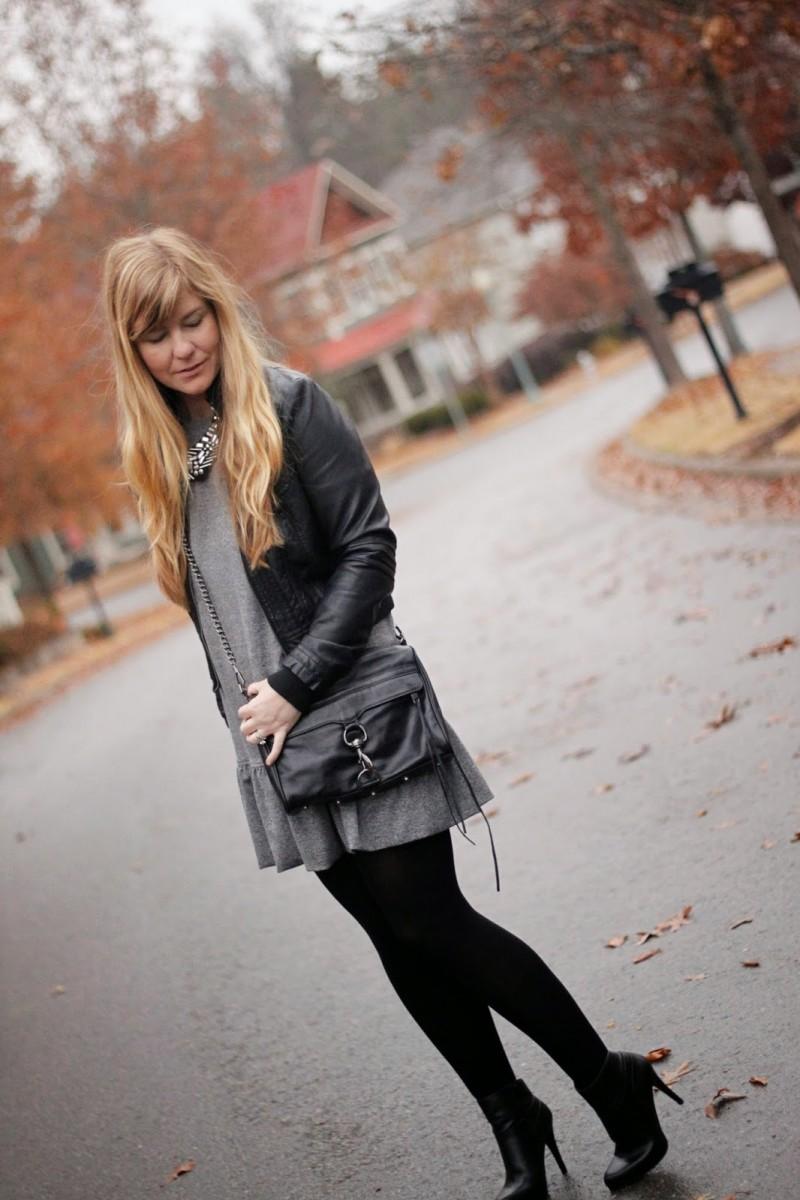 gray dress 1