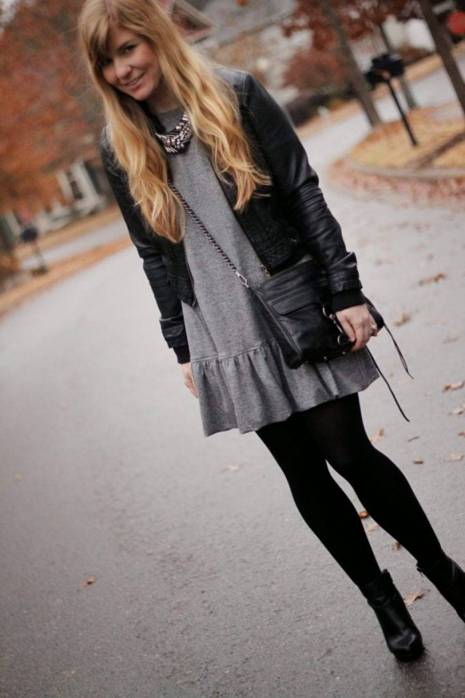 gray dress 4