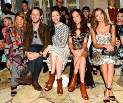 Celebs Abound at Tory Burch Show