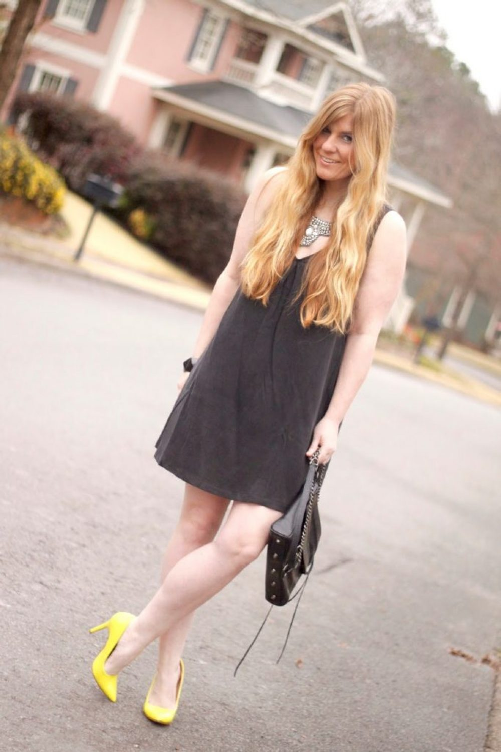 How I Wore My Heels: Go Bright for Spring!