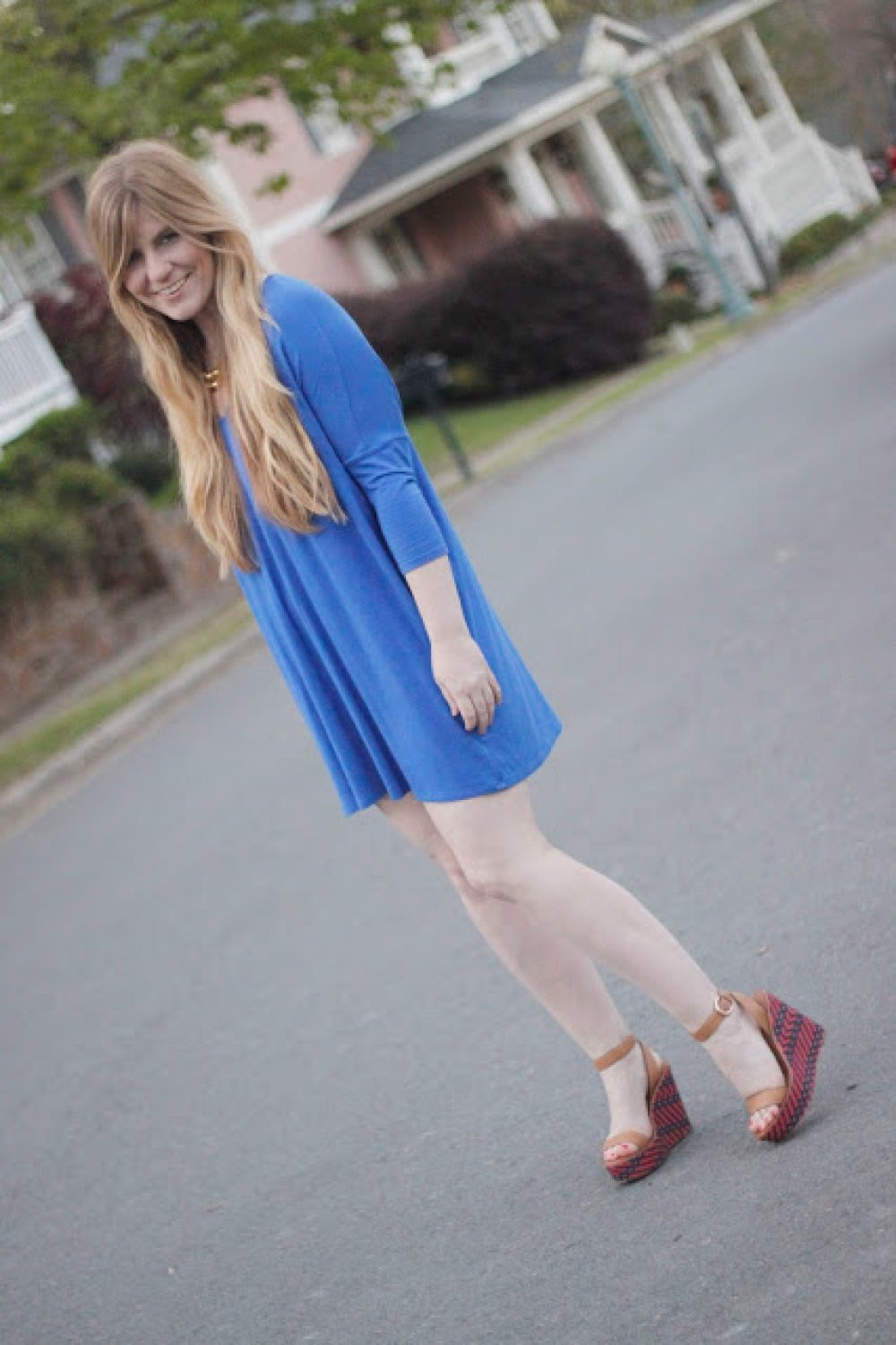 How I Wore My Heels: Little Blue Dress
