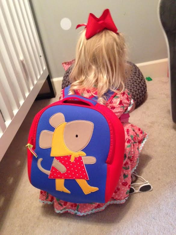 Miss Mouse kids backpack from Dabbawalla