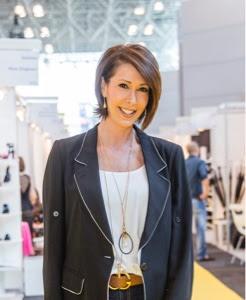 Leslie Gallin, president of footwear at UBM Fashion Group