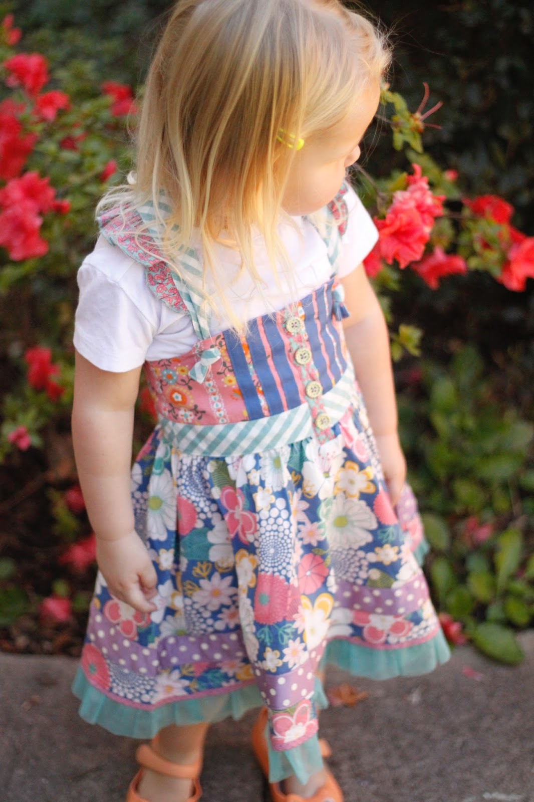 knot dress review from the Matilda Jane fall collection