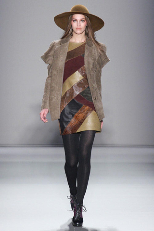 Nicole Miller: Mercedes-Benz Fashion Week F/W 2012