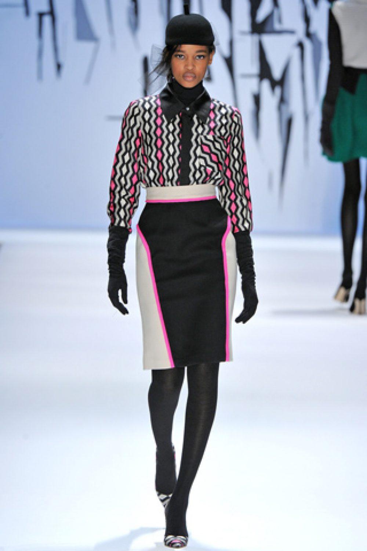 Milly: Mercedes-Benz Fashion Week F/W 2012