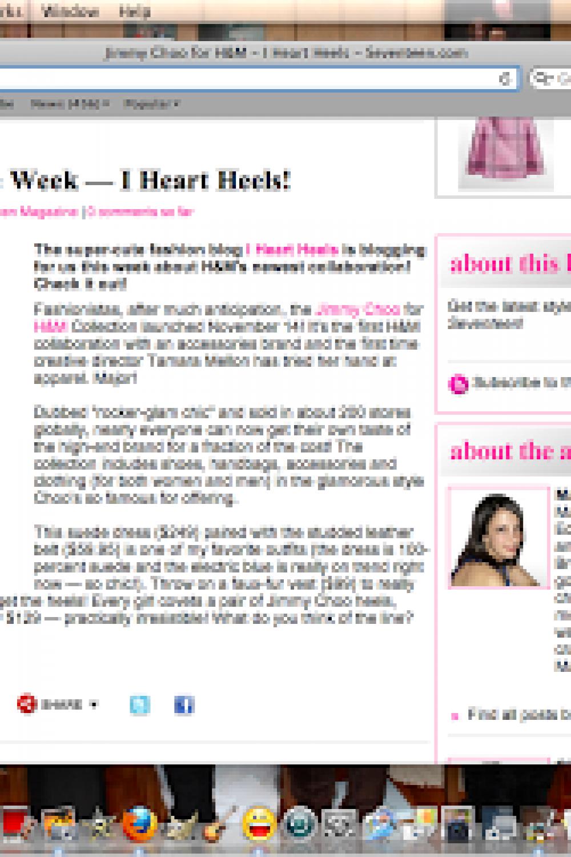 I Heart Heels Featured on Seventeen.com!