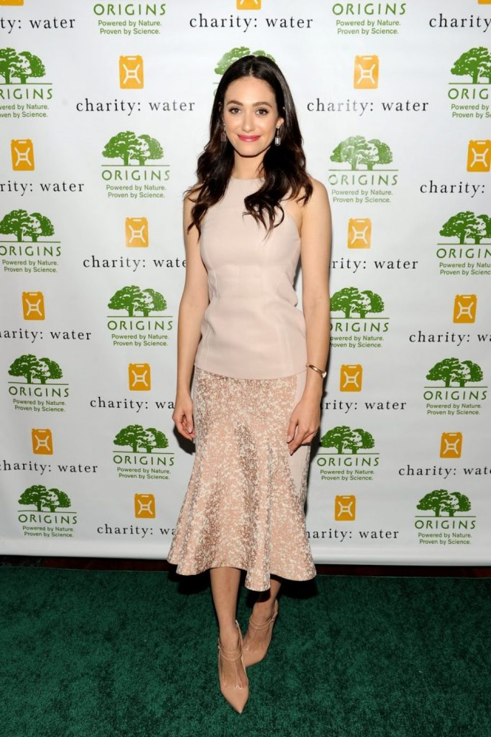 Emmy Rossum Hosts Origins Smarty Plants Event in NY