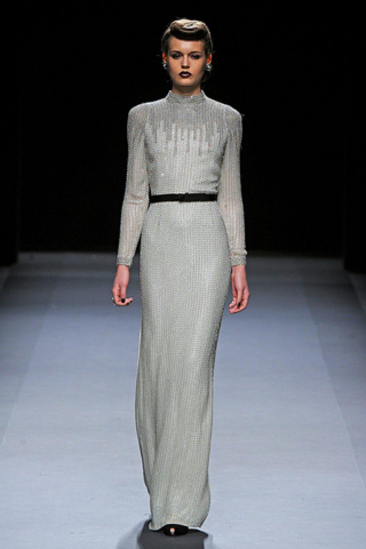 Jenny Packham: Mercedes-Benz Fashion Week F/W 2012