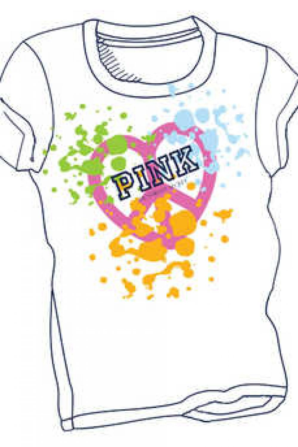 VS PINK Design-A-Tee Contest