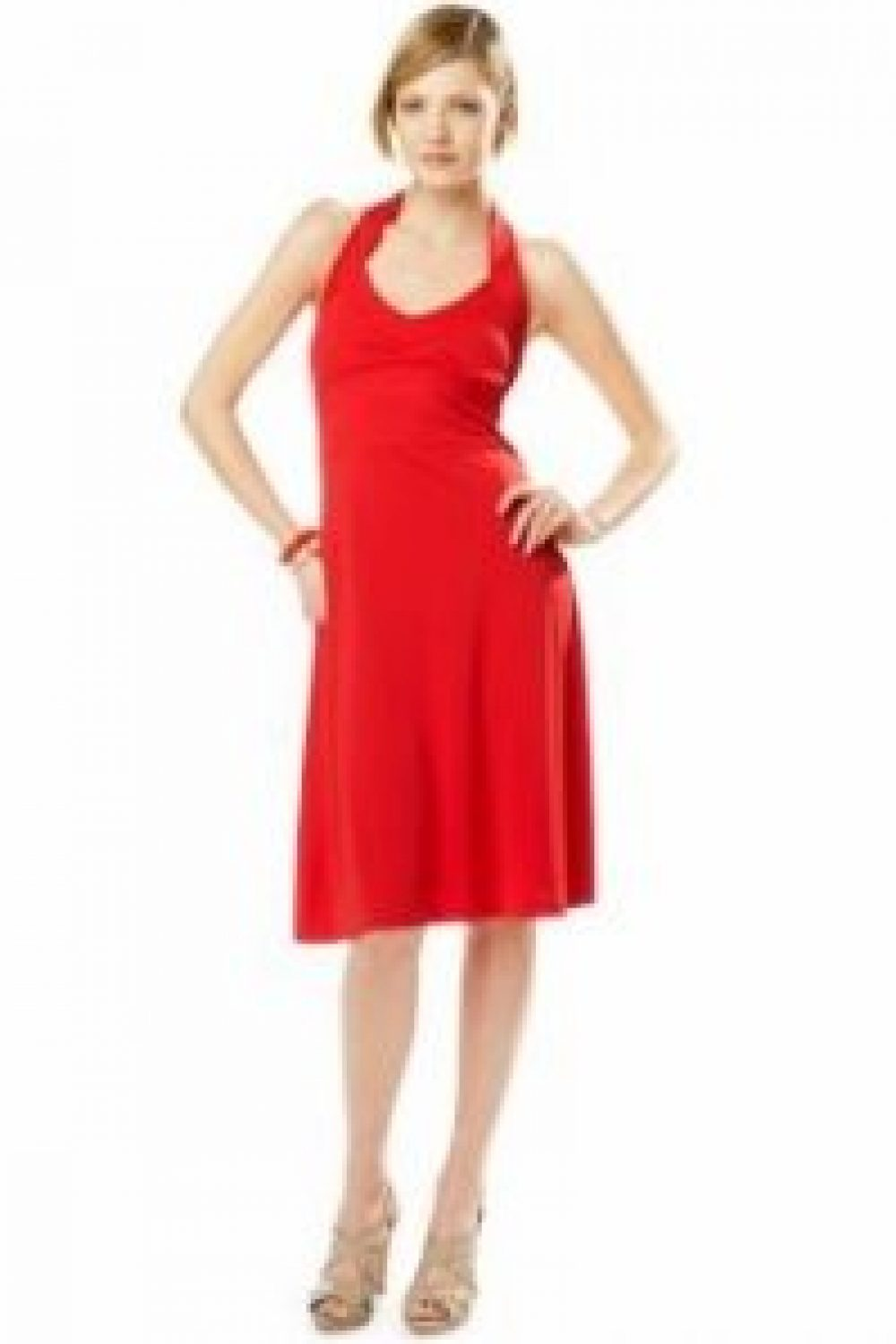 How to Wear a Red Dress