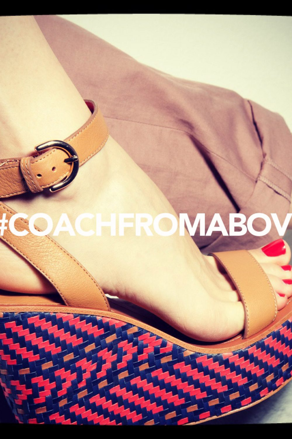 Win A Pair of Coach Heels!