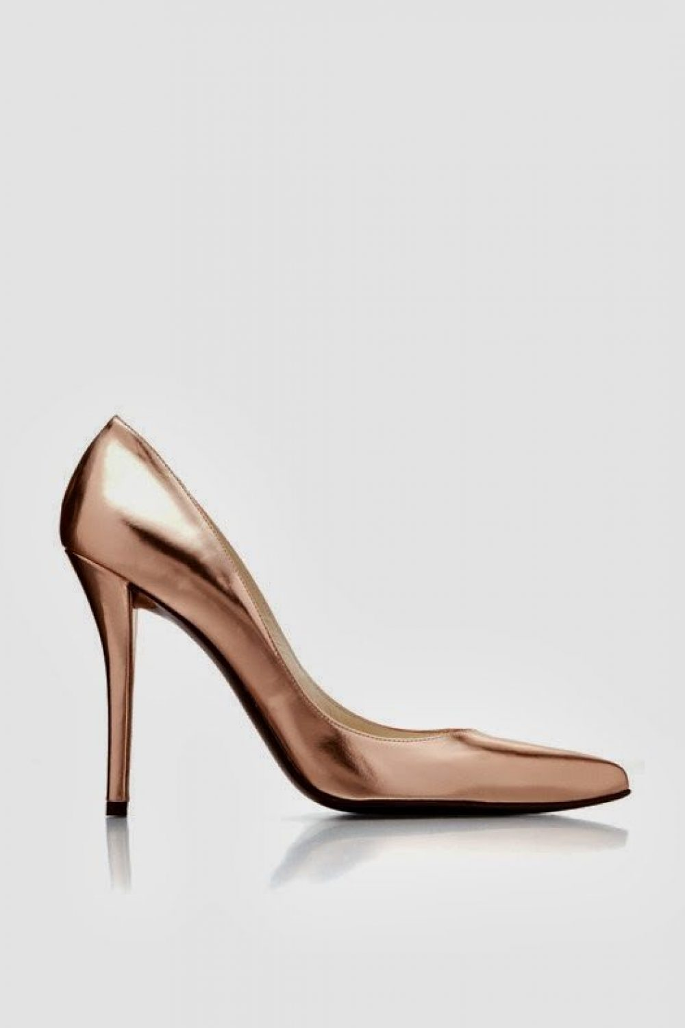 Hooked on Rose Gold Heels