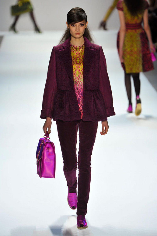Nanette Lepore: Mercedes-Benz Fashion Week F/W 2012