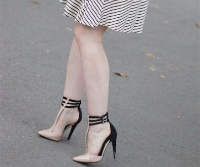 How I Wore My Heels – with Stripes