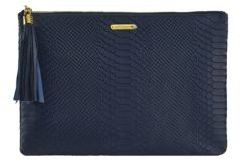 gigi new york monogram clutch
