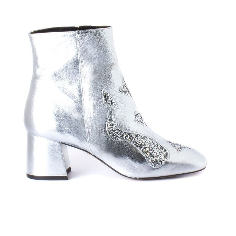 Metallic Bootie
