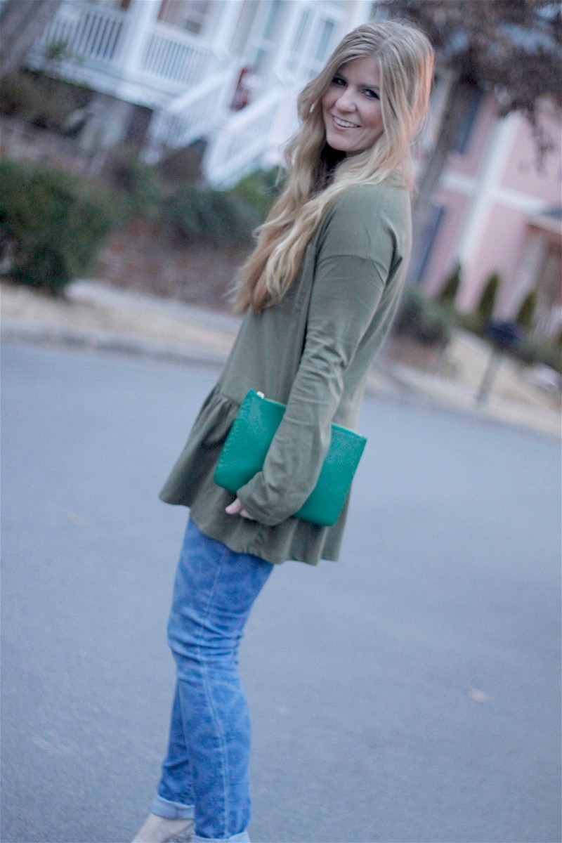 Zara Flounce Tee