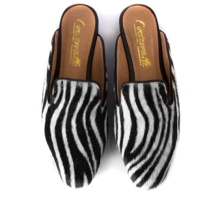 Zebra Moccasins