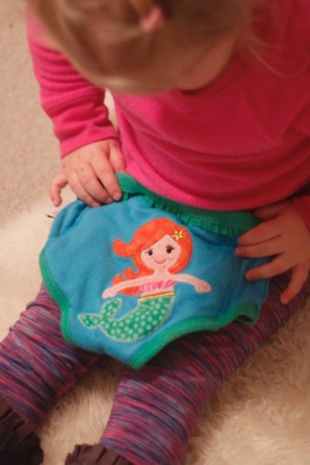 Whiny Wednesdays: Potty Training and Zoocchini Fairy Tail Training Pants