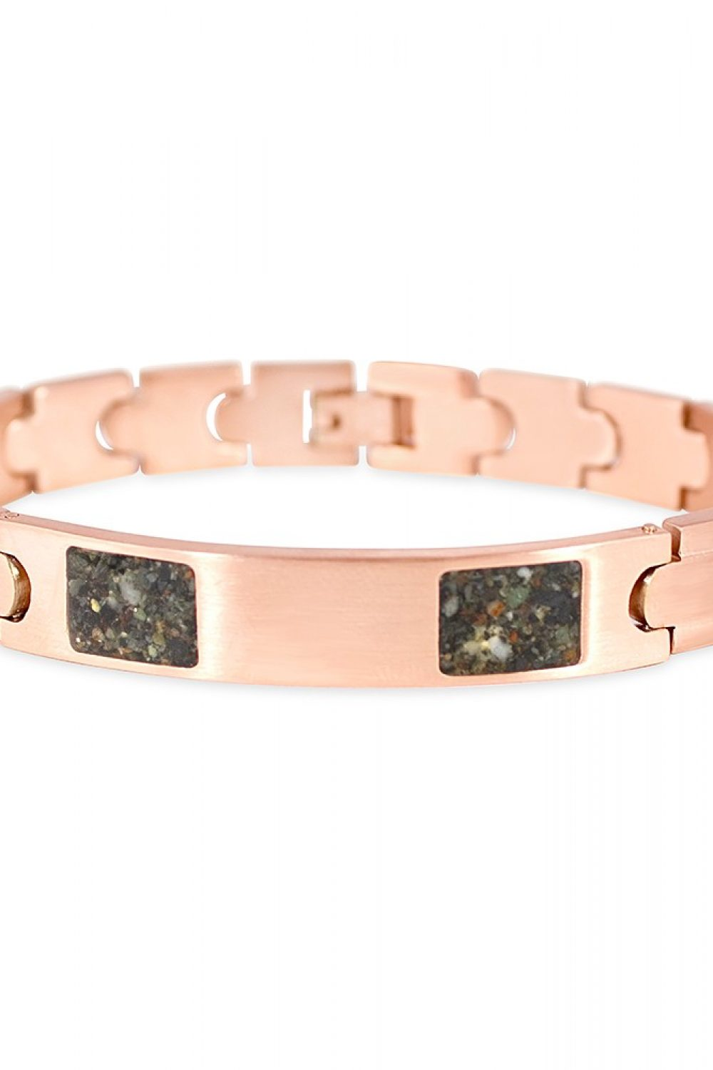 Dune Jewelry Rose Gold ID Bracelet