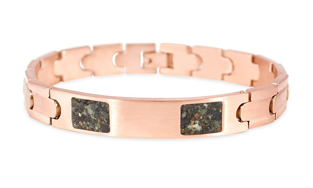 Dune Jewelry Rose Gold ID Bracelet