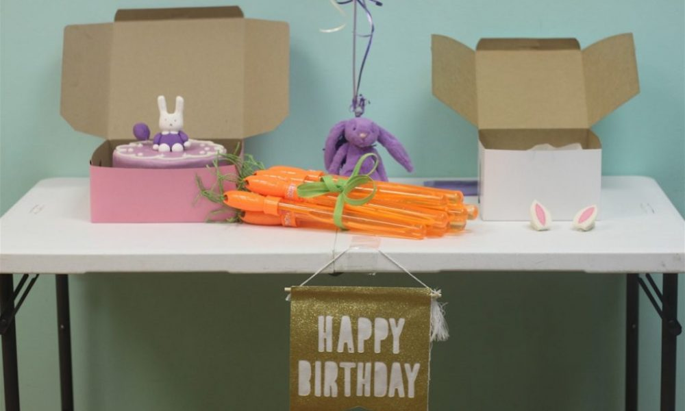 Whiny Wednesday: Bunny Birthday Party at The Little Gym