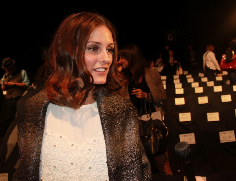olivia palermo fashion week