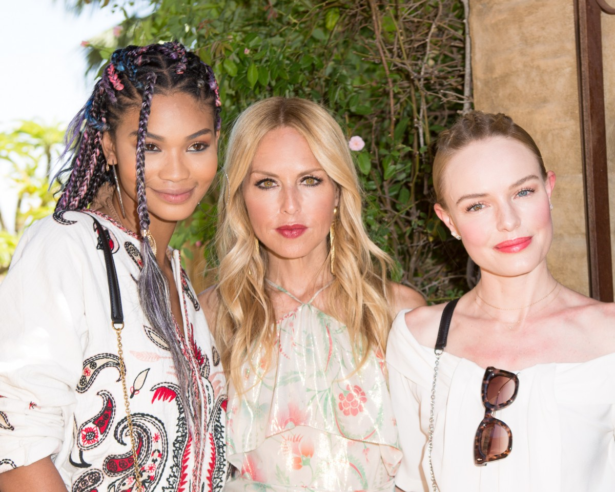 Chanel Iman, Rachel Zoe and Kate Bosworth at Coachella