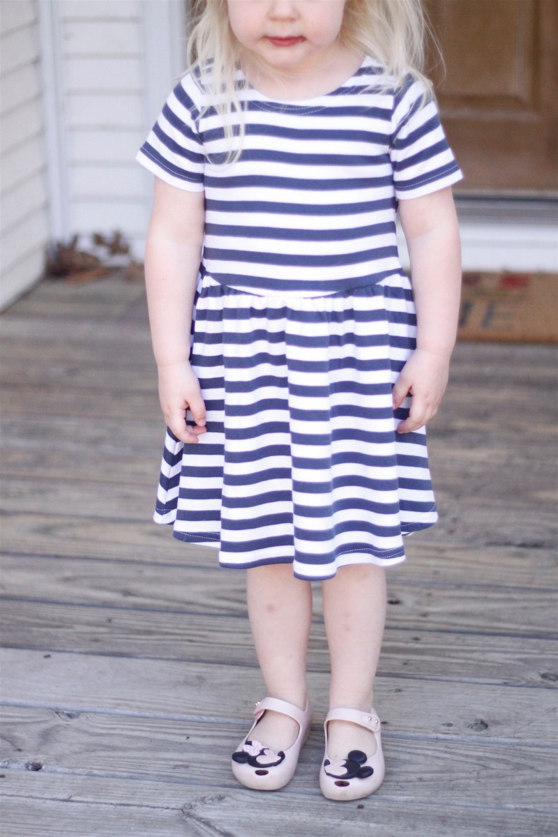 Zutano Striped Dress 1
