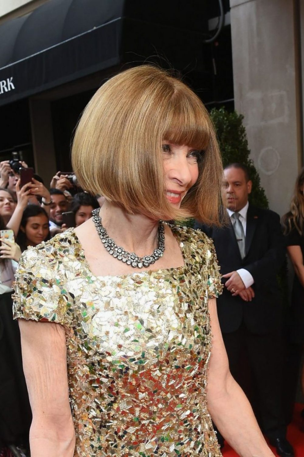Anna Wintour Wins the Met Ball. So chic.