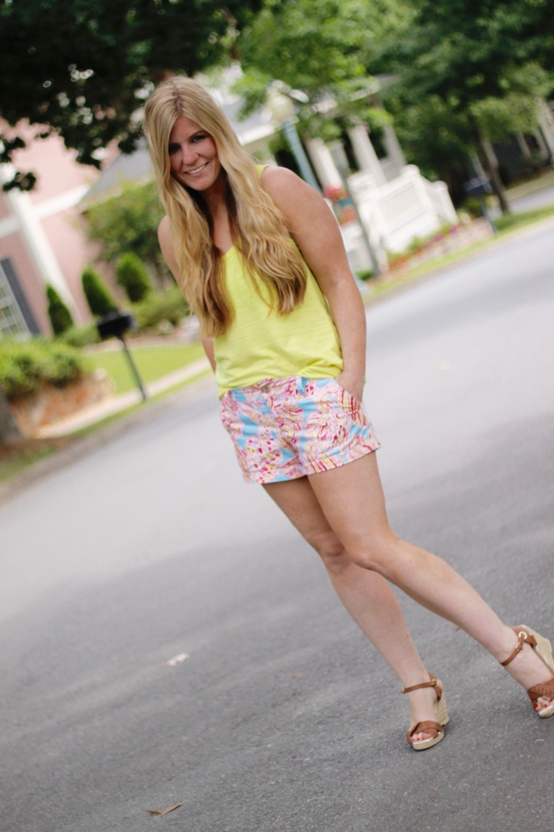 Lilly Pulitzer Shorts 1