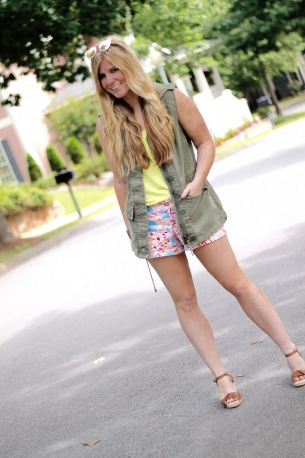 How I Wore My Heels: Fancy Shorts & How to Style Them