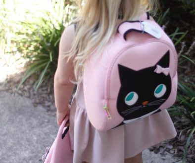 Whiny Wednesday: Dabbawalla Miss Kitty Backpack Goes to Preschool