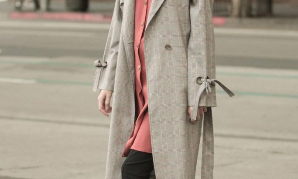 Accessory Trends Trench Coat