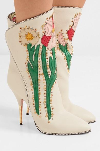 Gucci Cowboy Boots Shoe Trend