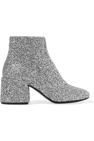 MM6 Maison Margina Glitter Shoe Trend