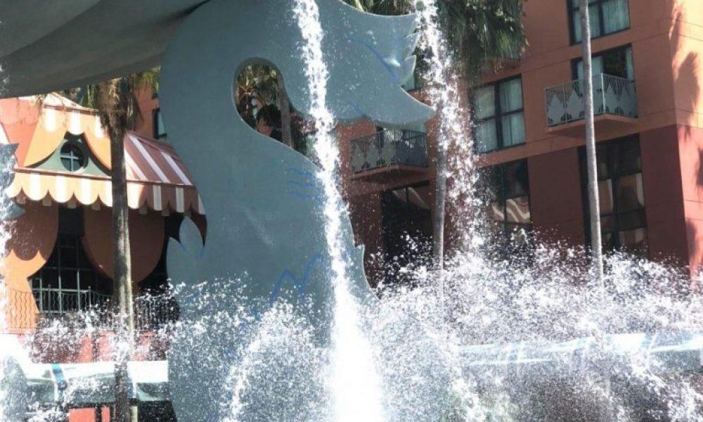 Walt Disney World Dolphin Fountain