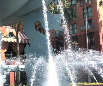 Walt Disney World Dolphin Fountain